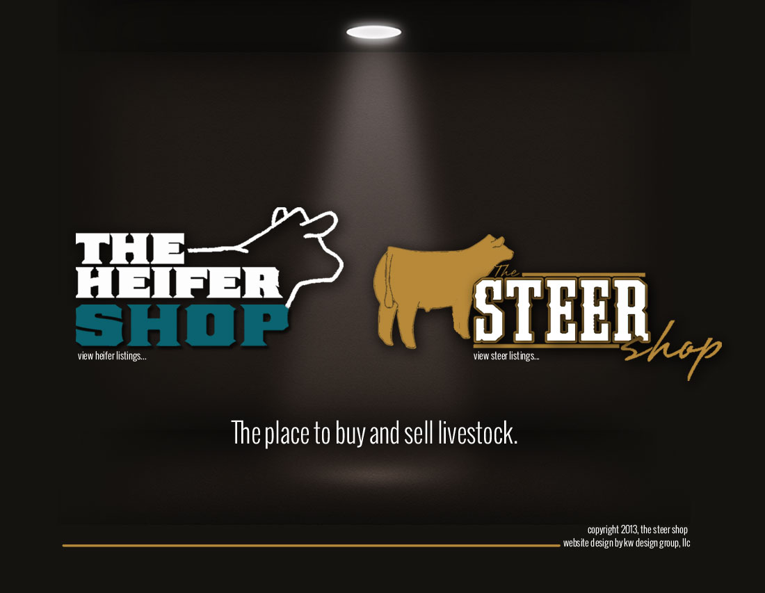 The Steer Shop Heifer Shop The Place To Buy And Sell Cattle